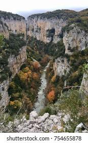 Foz Arbayun natural park in Navarra