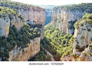 Foz de Arbayun, famous tourist destination in Navarra, Spain,peace, calm, serenity, harmony, fullness, well-being, nature, natural, contemplate, meditate, breathe, grow, happiness, tranquility,
