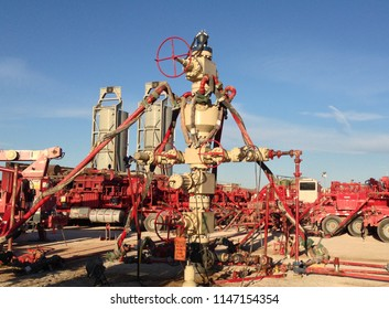 Frac Stack in Permian Basin