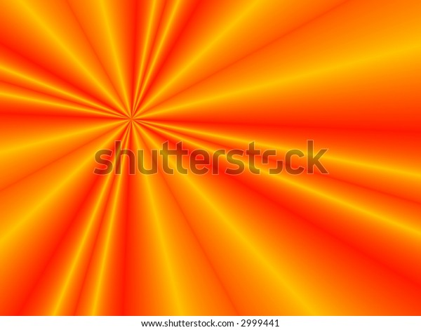 Fractal image of a folded red satin sheet.