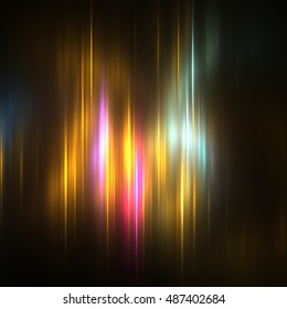 Fractal Northern Lights - Fractal Background- Fractal Art