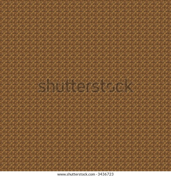 Fractal rendition of coffee seed background