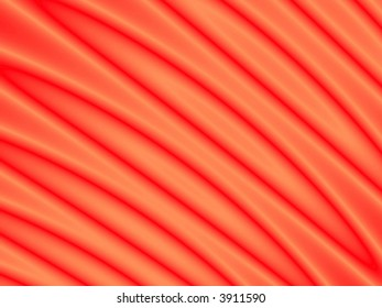 Fractal rendition of red ripples back ground