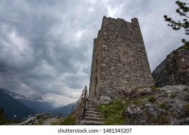Fraele Towers (Torri di Fraele), Valdidentro, North Valtellina, Lombardy, Italy