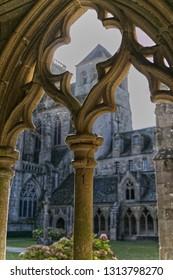 Fragile old cloisters
