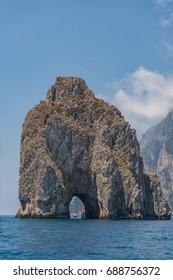 Fraglioni de Capri, Italy