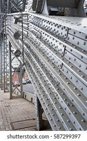 Fragment of bridge construction