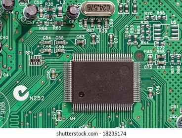 Fragment of the electronic circuit