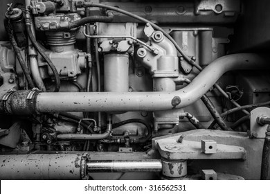 A fragment of the engine
