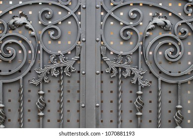 Royalty Free Wrought Iron Gate Images Stock Photos Vectors