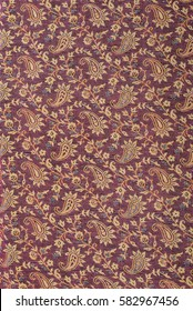Fragment of Indian pashmina shawl pattern, can be used as background