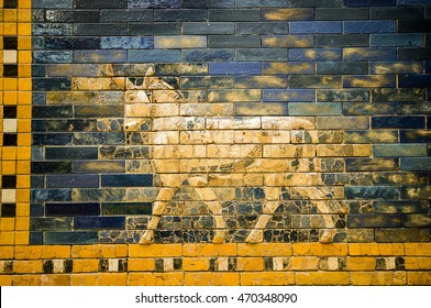 fragment of the Ishtar Gate