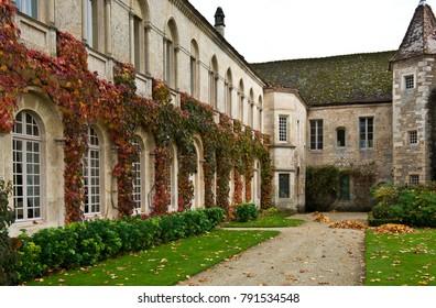 Fragment of a medieval castle, France