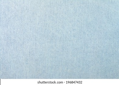 Fragment of the old worn blue denim.