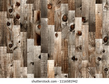 Fragment of parquet floor with the texture of an old coniferous board