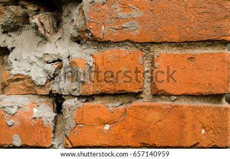 Outstanding Fragment Poorly Repaired Wall Old House Stock Photo Edit Download Free Architecture Designs Embacsunscenecom