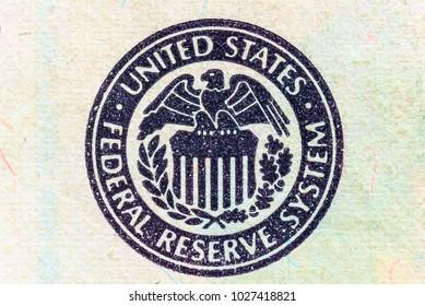 fragment of a twenty dollar bill photographed macro
