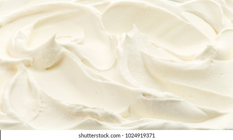 fragment of whipped cream background