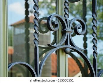 Wrought Iron Window Grill Design 2019 Latest 10