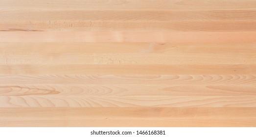 A fragment of a wooden panel hardwood. Beech.