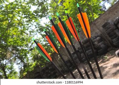 Fragments of arrowa for traditional archery