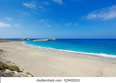 Fragolimnionas beach in Karpathos, Greece