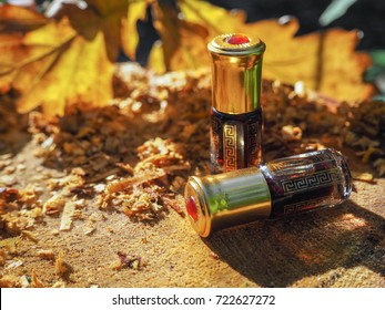 Fragrant oil. Scented oil. Small bottle of Arabian Attar.