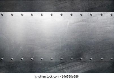 Frame background, industrial grunge board