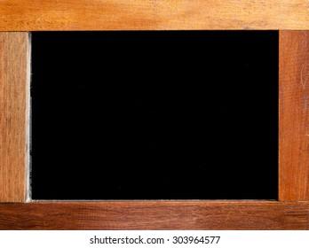 A frame of blackboard background