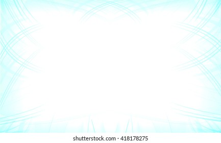 Frame Blue Abstract Background
