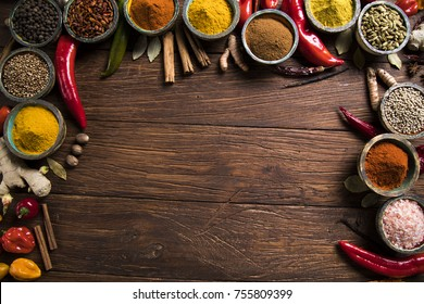 Frame, Herbs and spices