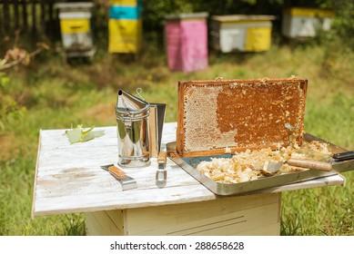 frame honey