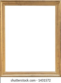 Frame isolated and with clipping path