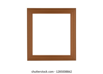 frame isolated on white background with clipping path.
