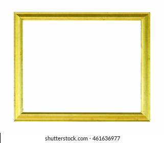 Frame isolated on the white background.