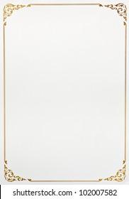 frame paper background