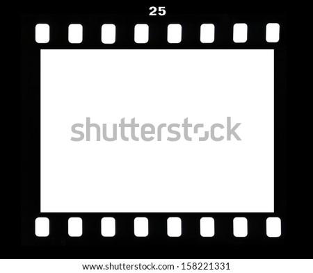 Frame Photofilm Shot Number Twenty Five Stock Photo (Edit Now ...
