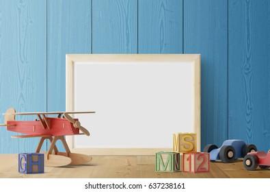 Frame poster background