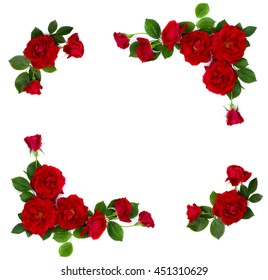 Red Rose Frame Images Stock Photos Amp Vectors Shutterstock