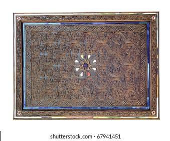 Frame Thai style antique Thai style. The Thai craftsmanship.