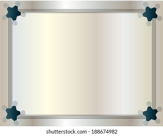Framed background pearly color
