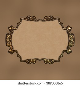 Framed Paper - great usage as a card, invitation or scrapbook