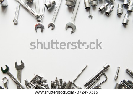 Framing Tools Chrome Stock Photo (Edit Now) 372493315 - Shutterstock