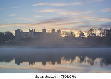 Framlingham Castle, Ed Sheerans Castle on the Hill in Suffolk.