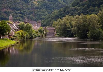Entraygues-sur-Truyère. France