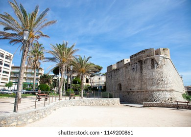 France, Antibes, the fortresse.