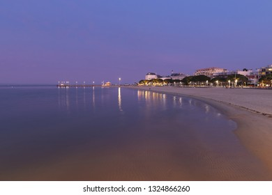 France, Archachon,, 2018:  Arcachon is a renowned seaside resort town in southwest France that's known for oyster harvesting.