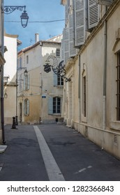 FRANCE ARLES SEP 2018 a view of a street in Arles city of Provence France