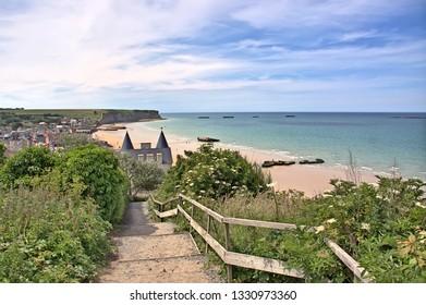 France, Arromanches Gold beach D day