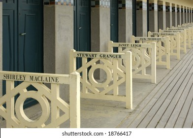 France, beach of Deauville